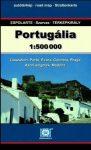 Portugália autótérkép - Szarvas & Espolarte