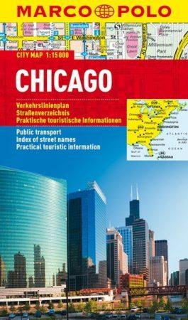Chicago várostérkép - Marco Polo