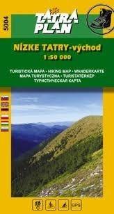 Low Tatra Mountains (East), hiking map (5004) - Tatraplan