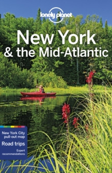 New York & the Mid-Atlantic, guidebook in English - Lonely Planet