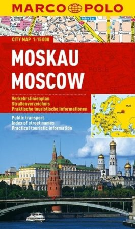 Moszkva várostérkép - Marco Polo