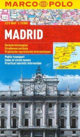 Madrid várostérkép - Marco Polo