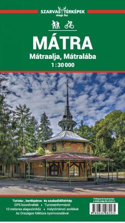 Mátra, Mátraalja, Mátralába turistatérkép - Szarvas