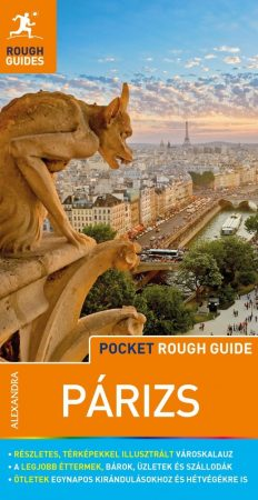 Paris, guidebook in Hungarian - Rough Guides