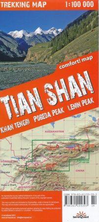 Tien-San trekkingtérkép - TerraQuest