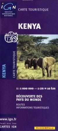 Kenya térkép - IGN