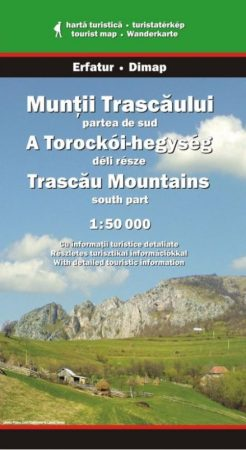 Torockói-hegység (dél) turistatérkép - Erfatur & Dimap