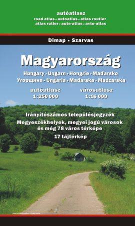 Magyarország autóatlasz - Dimap & Espolarte & Térkép-Center