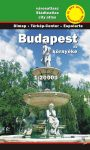 Budapest and metropolitan area, city atlas - Szarvas & Dimap