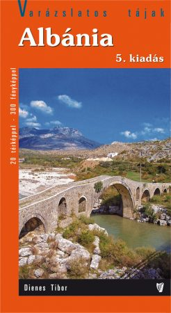 Albania, guidebook in Hungarian - Hibernia