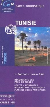 Tunézia térkép - IGN