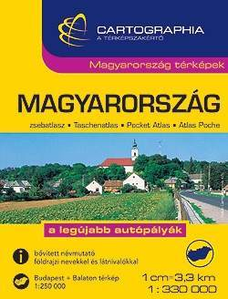 Magyarország zsebatlasz - Cartographia