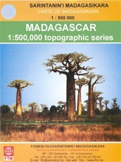Ampanihy térkép - Madagascar Survey