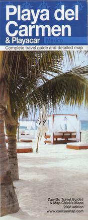 Playa del Carmen & Playacar térkép - Can-Do