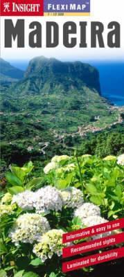 Madeira laminált térkép - Insight