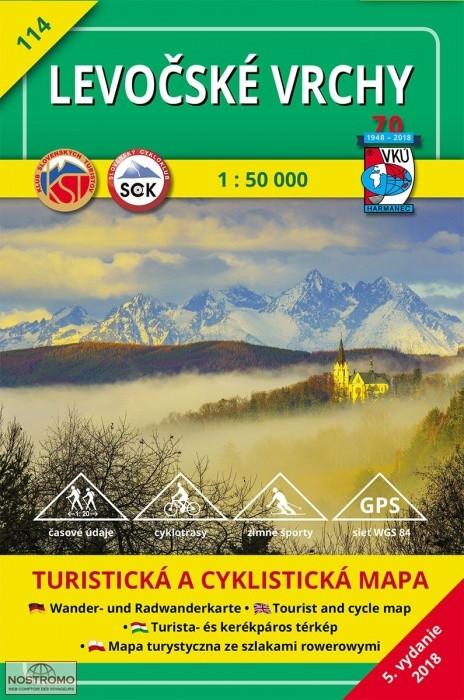 Lőcsei-hegység, Poprád, Késmárk - VKÚ - HM 114