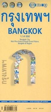 Bangkok térkép - Borch
