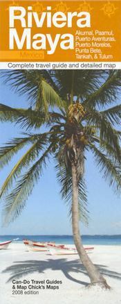 Riviera Maya térkép - Can-Do