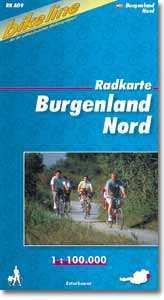 Burgenland Nord kerékpártérkép - (RK-A 09)