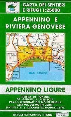 Genoa - Varazze térkép (No 3/4) - Multigraphic