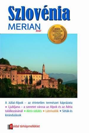 Szlovénia útikönyv - Merian live!