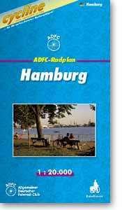 Hamburg kerékpártérkép - Esterbauer