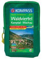 WK 203 Waldviertel-Kamptal-Wachau (Set) - KOMPASS