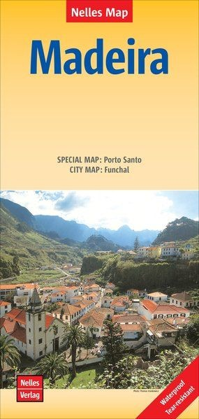 Madeira térkép - Nelles