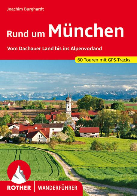 München környéke, német nyelvű túrakalauz - Rother