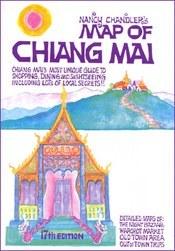 Chiang Mai térkép - Nancy Chandler