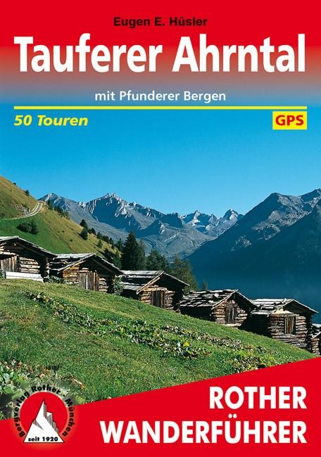 Tauferer Ahrntal, német nyelvű túrakalauz - Rother