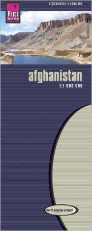 Afganisztán térkép - Reise Know-How