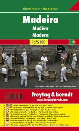 Madeira zsebtérkép - Freytag-Berndt