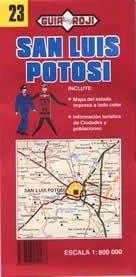 San Luis Potosi állam térkép (No23) - Guia Roji