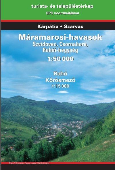 Máramarosi-havasok turistatérkép - Szarvas & Kárpátia