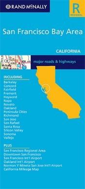 San Francisco Bay Area (Kalifornia) térkép - Rand McNally